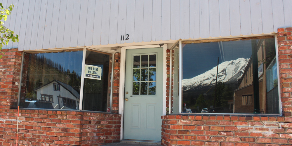 vacant storefront, Weed, CA, Siskiyou county | Siskiyou Forward Movement